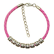 Eruner®Vintage Candy Color Soft Leather Bracelet(Assorted Color)