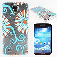 Beautiful Blue Flowers Pattern PC Hard Case for Samsung S4 I9500