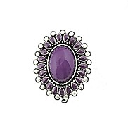 New Arrival Fashion Gemstone Chunky Ring Design