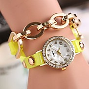 New All-match Popular Retro Bracelet Leather Watch(Assorted Color)