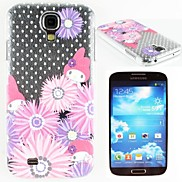 Noble Chrysanthemums Pattern PC Hard Case for Samsung S4 I9500