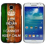 Milocos ™ Indian National Flag Can Not Keep Calm Hard Case for Samsung Galaxy S4 i9500