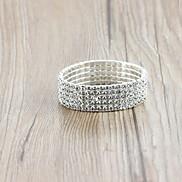 Fashion Women's Silver Charm Bracelet(Silver)(1Pc)