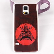 Beautiful Glasses Pattern PC Back Case for Samsung S5/I9600