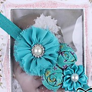 Children's New Colorful Rose Pearl Rhinestone  Headbands for Kids(Random Color)
