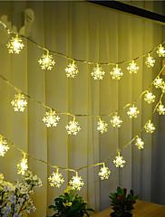100-οδήγησε 10μ χιονόπτωση αδιάβροχο βύσμα εξωτερική διακοπές των Χριστουγέννων φως διακόσμηση οδήγησε φως εγχόρδων