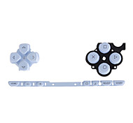 Replacement Buttons for PSP Slim/2000 (White/Blue)