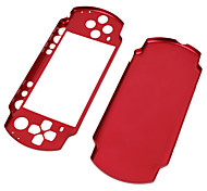 Aluminum Case for PSP Slim/2000 (Red)