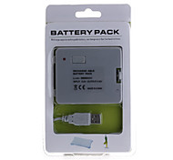 USB Rechargeable Battery Pack (3800mAh) for Wii/Wii U Fit Balance Board