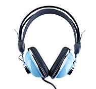 Kanen KM-740 Stylish Stereo Headphones (Blue)