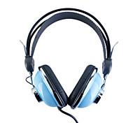 Kanen km-740 elegante fones de ouvido estéreo (azul)