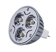 Foco de Luz Dirigida LED de Color Blanca Cálida de 3000K de 270lm de 3W MR16 de 12V