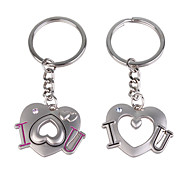 Stainless Lovers keychains (I & U / 2-Piece Set)