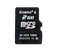 2GB Kingston MicroSD Memory Card