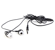 Replacement Stereo In-ear Earphones For iPhone (3.5mm Jack/Black)