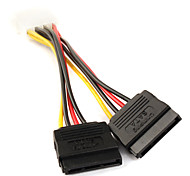 IDE to SATA Serial ATA Hard Drive Power Adapter Cable 0.15M