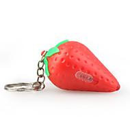 Strawberry Shaped Led Keychain