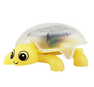 Solar Mini Crystal Crawling Tortoise Yellow