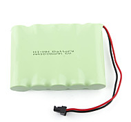 1800mAh 6V AA Ni-MH Rechargeable Battery Set