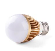 3 W 3 High Power LED 240-270 LM Natural White Globe Bulbs AC 85-265 V