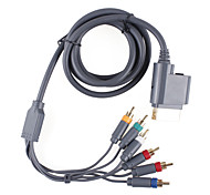 Premium-Komponenten-Video-und Audio-AV-Kabel für xbox 360 (1.84cm-Kabel)