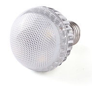 E27 4W 350-380LM 3000-3500K Warm White LED Ball Bulb (85-265V)