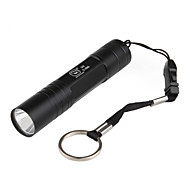 Super Bright 1-Mode LED Flashlight (400LM, 1x14500, Black)