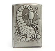 Scorpion Pattern Metallic Oil Lighter (Random Color)