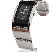 Stainless Steel Bracelet Band Wrist Watch - Black Cool Watches Unique Watches