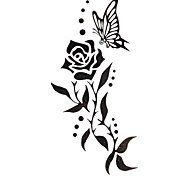 5 Stück stieg wasserdicht temporäres Tattoo (12,5 cm * 6,5 cm)