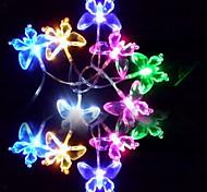 6M 3W 32-LED Красочный Свет в форме бабочки,(110 / 220В)