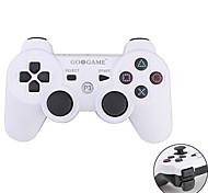 Control GOiGAME Inalámbrico de Dos Tonos DualShock 3 para la PS3  (Blanco + Negro)