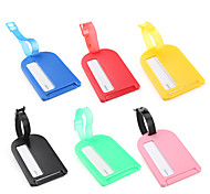 Plastic Luggage Tag (Colors Assorted)