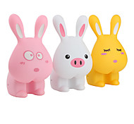 2-Mode Rabbit Shaped Energy-saving Table Lamp (Color Assorted)