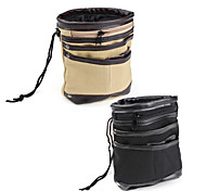 Canvas and PU leather Waist Bag (Assorted Colors)