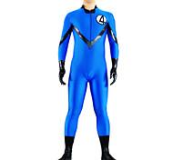 blue no.4 Kämpfer Lycra Catsuit
