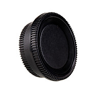 Rear Lens Cover +Camera Body Cap For Nikon