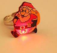 Cartoon LED Flashing Ring(Santa Claus)