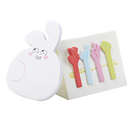 Cute Rabbit Shaped Self Adhesive Sticky Note Pads