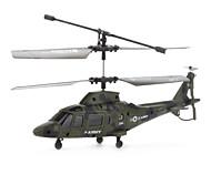 3 kanaals infrarood Control RC helicopter met een gyroscoop (legergroen)