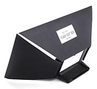 Universal Flash Diffuser/Softbox for Canon, Nikon and Sony Cameras (Black)