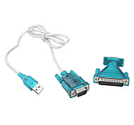 USB 2.0 to RS232 Plastics Shell Adapter (1M)