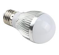 6W E26/E27 Bombillas LED de Globo A50 3 LED Integrado 510 lm Blanco Natural AC 85-265 V