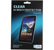 anti-reflejo protector de pantalla transparente para Samsung Galaxy ficha p6800