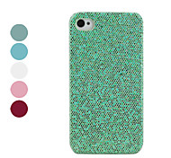 Carcasa Brillosa para iPhone 4 y 4S (Colores Surtidos)