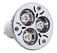 3W GU10 LED Spot Lampen MR16 3 High Power LED 300 lm Warmes Weiß AC 85-265 V