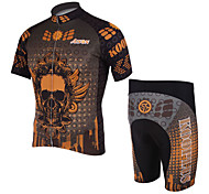 KOOPLUS Men's Cycling Suits Short Sleeve Bike Spring / Summer Breathable / Quick Dry Black S / M / L / XL / XXL / XXXL
