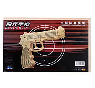 bois jouet 3D Puzzle pistolet