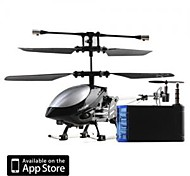 3 Channel I-Helicopter 777-172 with Gyro Controlled by iPhone/iPad/iPod Touch Black (777-172B)
