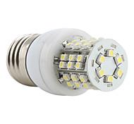 E26/E27 3W 48 SMD 3528 150 LM Natural White LED Corn Lights AC 220-240 V